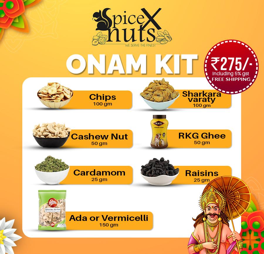 SpiceXnuts Onam Kit